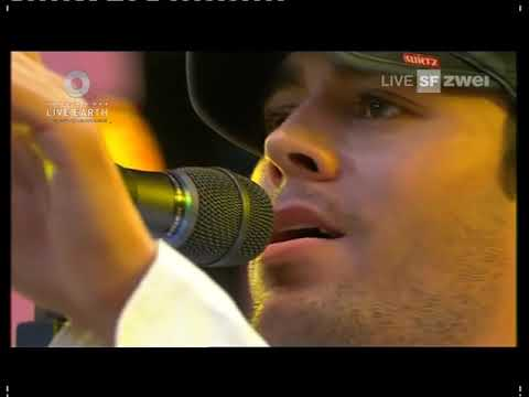 Enrique Iglesias - Don't You Forget About Me (Live) in Hamburg at Live Earth
