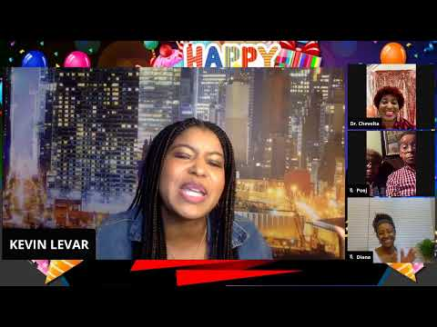 """Dr. Chevelta Smith's Virtual Birthday Party Special Guest : Comedian """"Kasaun Wilson"""""""