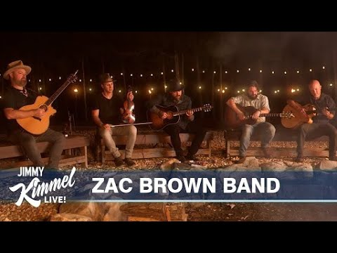 Zac Brown Band - The Man Who Loves You The Most (Jimmy Kimmel Live)