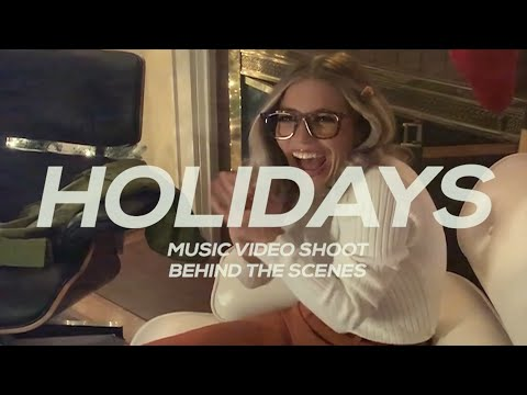 Josie Dunne - Holidays (Behind The Scenes)
