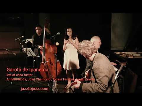 2014 garota de Ipanema ANDREA MOTIS, JOAN CHAMORRO, IGNASI TERRAZA, JOSEP TRAVER
