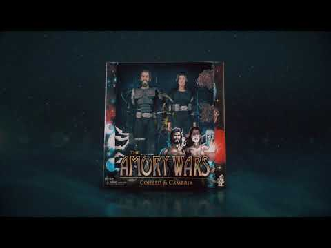 Tha Amory Wars - Coheed and Cambria Action Figure Set [Official Commercial]