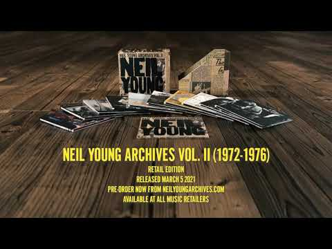 Neil Young Archives II - Volume 2 Of The Definitive Chronological Record of Neil's Career.