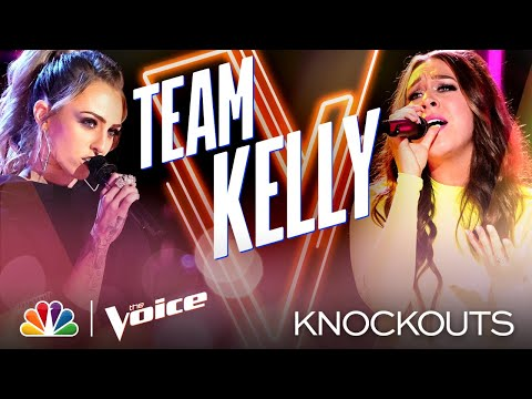 Kelsie Watts and Madeline Consoer Sing Challenging Songs Phenomenally Well - Voice Knockouts 2020