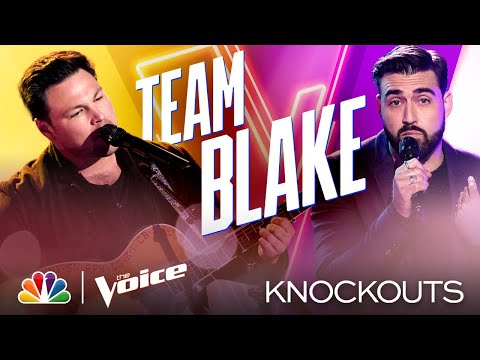 "Ian Flanigan and James Pyle Are Both ""Fantastic"" in Their Performances - The Voice Knockouts 2020"