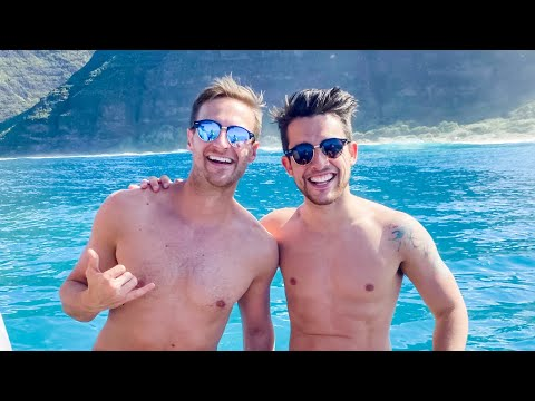Honeymoon Vlog Part 3: Kauai - Chris and Clay
