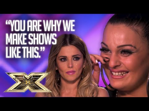 Unforgettable Audition: Monica Michael sends LOVE to her little sister | The X Factor UK