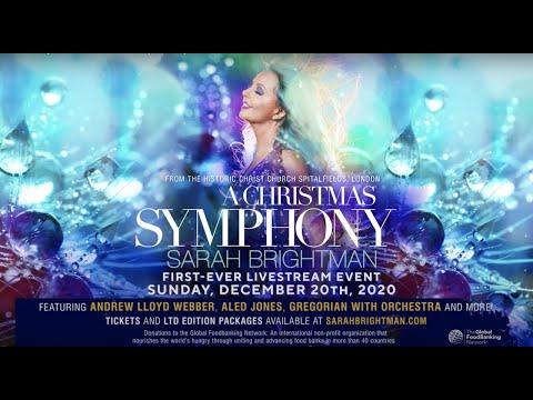 Sarah Brightman:  A Christmas Symphony - TRAILER
