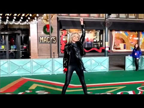 Debbie Gibson on the Streets of NYC