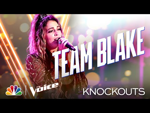 "Taryn Papa Sings Faith Hill's ""Cry"" - Four-Way Knockout - The Voice Knockouts 2020"