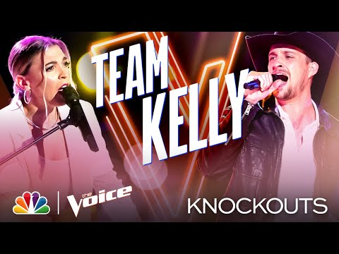 Marisa Corvo and Tanner Gomes' Performances Leave Kelly with a Tough Choice - Voice Knockouts 2020
