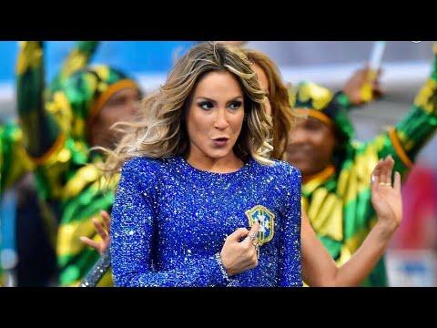 Claudia Leitte na Abertura da Copa do Mundo 2014