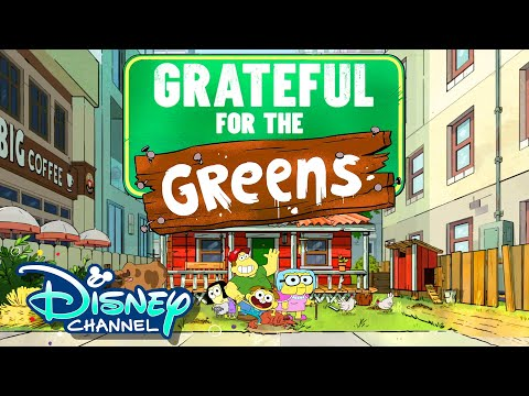 Top Reasons Why We're Grateful for the Greens 🦃 | Compilation | Big City Greens | Disney Channel