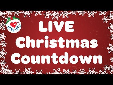 LIVE Christmas Songs and Carols Countdown to Christmas