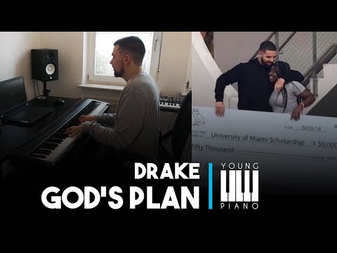 Drake - God's Plan | Cover by Young Piano