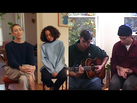 Dirty Projectors - On The Breeze (Live Acoustic Video)