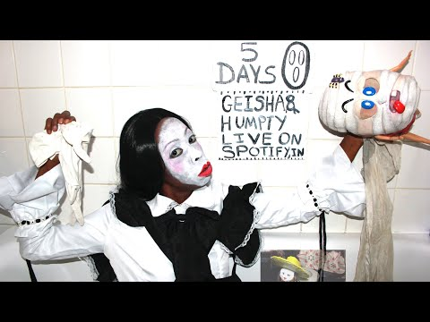 Geisha Davis - Humpty Dumpty ''Live on Spotify Countdown 5 days to go''