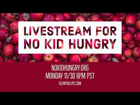 Livestream for No Kid Hungry