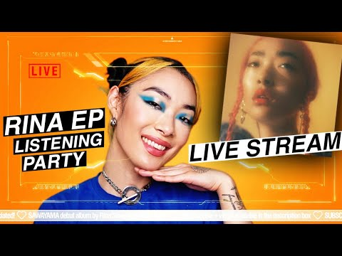 🔴#RINATVLIVE - RINA EP (+ non album singles) listening party 🎉 #stayhome #withme