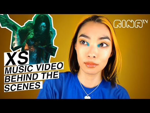🧡XS music video EXCLUSIVE BEHIND THE SCENES (special effects makeup, bloopers) | Rina Sawayama