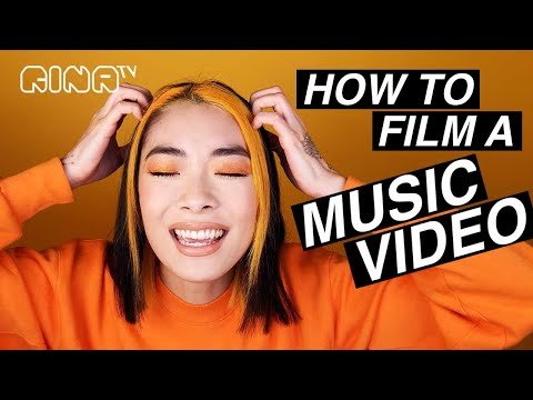 🧡How to make a MUSIC VIDEO in 5 STEPS: the filming of STFU! music video| Rina Sawayama (RINA TV)