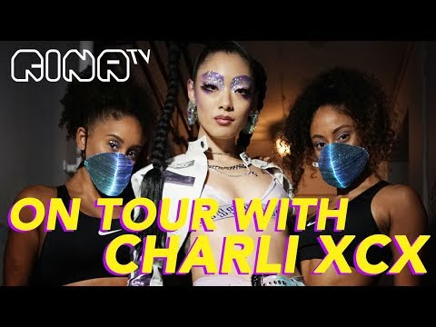 🧡ON TOUR WITH CHARLI XCX | Rina Sawayama (Vlog)
