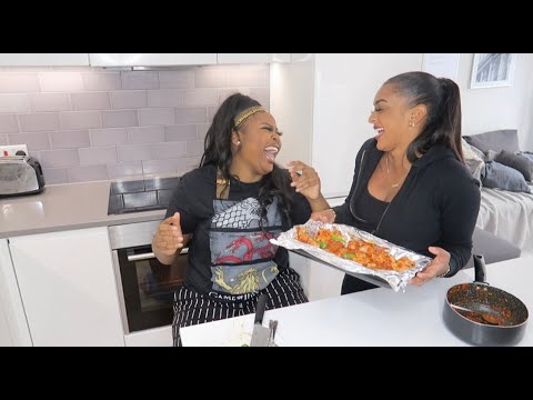 Eat With Paige #5 | Pepper Mouth With Nella Rose |  CONGOLESE EDITION!