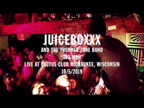 """JUICEBOXXX """"100 MPH"""" (LIVE CACTUS CLUB 2019)"""