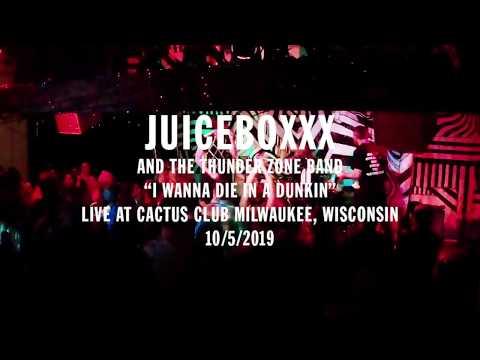 "JUICEBOXXX ""I WANNA DIE IN A DUNKIN"" (LIVE CACTUS CLUB 2019)"