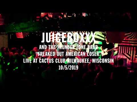 "JUICEBOXXX ""FREAKED OUT AMERICAN LOSER"" (LIVE CACTUS CLUB 2019)"