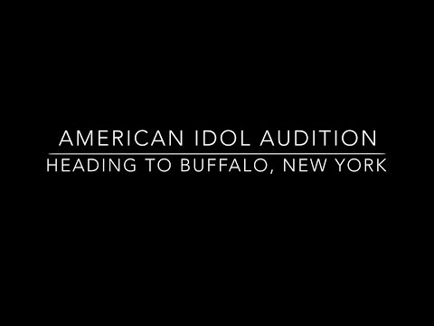 American Idol  Audition: Heading To Buffalo, New York