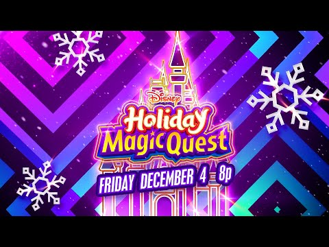 Disney Holiday Magic Quest Special with ZOMBIES 2 Cast!   Teaser   Disney Channel