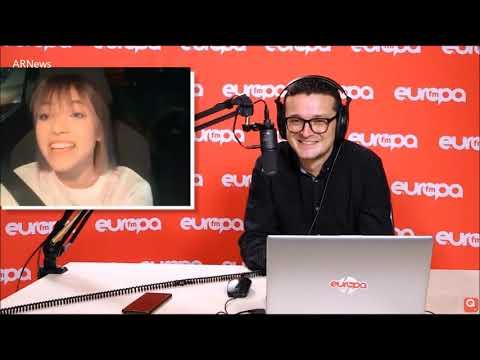 "Roxen on Alexander Rybak in the Romanian radio show ""Evening Club"" on Europa FM, 23. November 2020"