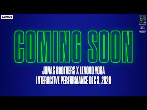 Jonas Brothers x Lenovo Yoga Interactive Performance