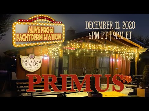 PRIMUS: Alive at Pachyderm Station [Official Trailer]