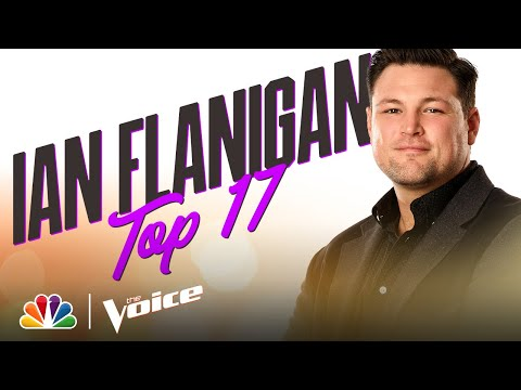 """Ian Flanigan Sings Bob Dylan's """"Make You Feel My Love"""" - The Voice Live Top 17 Performances 2020"""