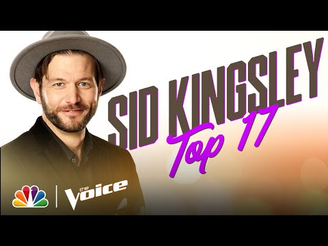 "Sid Kingsley Performs the Leon Bridges Song ""Beyond"" - The Voice Live Top 17 Performances 2020"