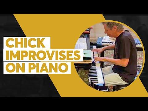 Livestream Highlights: Chick Improvises Harmonies