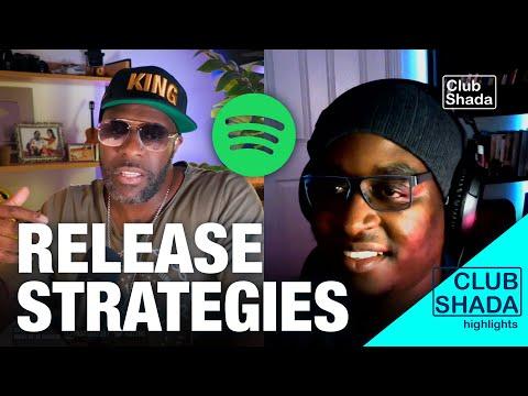 Spotify release strategies | ft. MJ Wemoto | Club Shada