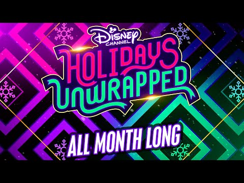 Holidays Unwrapped All Month Long! | Disney Channel