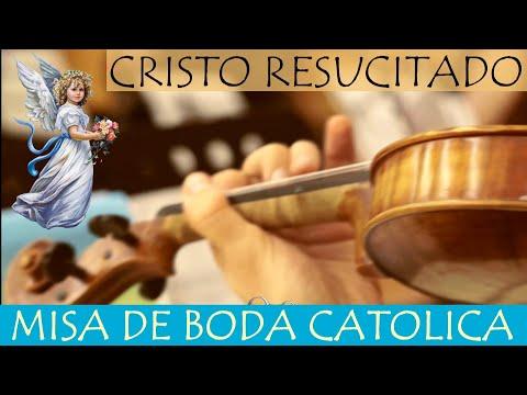 BODA CATOLICA: Cristo Resucitado (Voz, Violin, Cello y Piano)