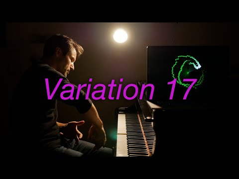 Goldberg Variations Var 17 #BachUpsideDown