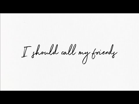Shawn Mendes - Call My Friends (Lyric Video)