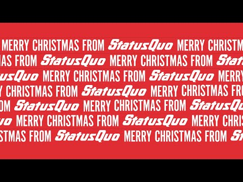Status Quo  - Christmas Message 2020