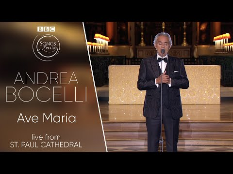 Andrea Bocelli - Ave Maria  (BBC Songs of Praise)