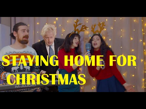 Staying Home for Christmas (Tier 4 Xmas song) #ChristmasIsCancelled