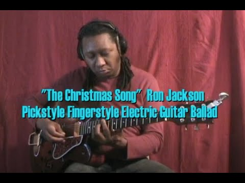 """MERRY CHRISTMAS! """"The Christmas Song"""" Solo Hybrid Picking Jazz Guitar"""