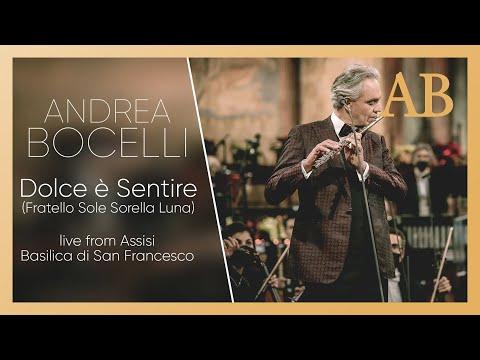 Andrea Bocelli - Dolce è Sentire (Christmas concert in Assisi)
