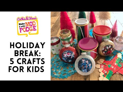 5 crafts for Holiday Break
