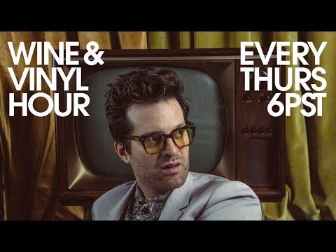 Wine & Vinyl Hour with Tuxedo (12/31/20)